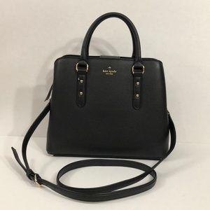 Kate Spade small black satchel bag